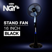 Kipas Angin Berdiri / Stand Fan TIMEZONE Black 16in TZ-16KB