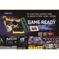 PC RAKITAN GAMING AMD FX 8800E/ DDR4 16GB / 500GB