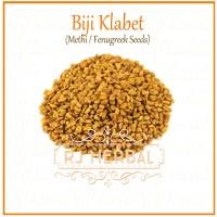 [500 gram] Biji Klabet / Fenugreek Seeds - Pelancar ASI alami
