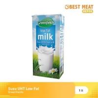 Susu Greenfields UHT Low Fat / Rendah Lemak 1L