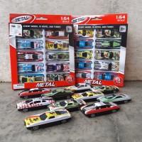 Diecast Set Mobil Sedan - Paket Mainan Miniatur Car Anak Edukasi