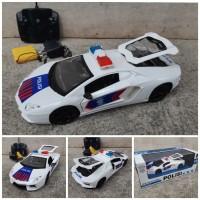 Rc Car Sedan Polisi - Mainan Mobil Police Remote Control Anak Edukatif