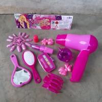 Mainan Set Alat Salon Tata Rias Edukasi - Paket Make Up Anak Edukatif