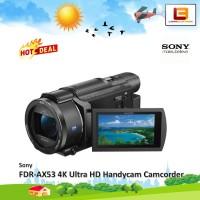 Handycam Sony FDR-AX53 AX53 AX 53 4K Ultra HD Handycam Camcorder