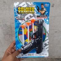 Mainan Pistol Target Edukasi - Tembak Tembakan Polisi Anak Edukatif