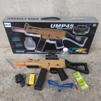 Mainan Senapan Pubg Hydrogel - Tembak Tembakan Ump5 Water Gel Anak