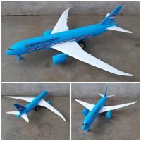 Mainan Pesawat Kepresidenan Ri Rakit Edukatif - Miniatur Garuda Anak