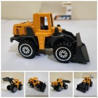 Diecast Truck Buldozer Alloy - Miniatur Truk Traktor Kontruksi