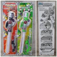 Mainan Pedang Pistol Led Light Sound - Pedangan Tembak Tembakan Anak