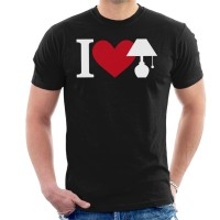 Kaos I Love Lamp Brick Tamland Anchorman T-shirt
