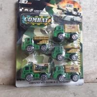 Mainan Set Mobil Truk Militer - Miniatur Truck Car Army Anak Edukatif