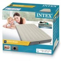 Intex Kasur Angin Portable - Matras Tidur Pompa Durabeam Inflatable