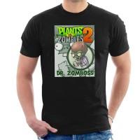 Kaos Plants Vs Zombies Dr Zomboss T-shirt