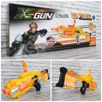 Mainan Nerf Senapan Xgun Peluru Lunak - Pistol Tembak Tembakan Anak
