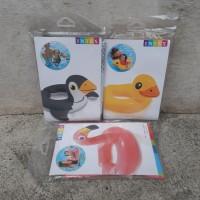 Intex Ban Renang Karakter - Pelampung Anak Penguin Bebek Flamingo