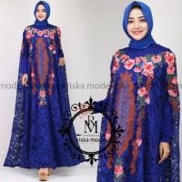 Fashion Muslim Kaftan Nagita//By Riska Mode