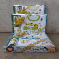 Kado Set Baju Bayi - Hadiah Baby Gift Newborn Paket Pakaian Anak Give