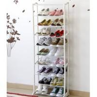 Rak Sepatu Rak Amazing 10 Susun Plastik Shoe Rack Serbaguna