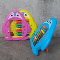 Alat Hitung Sempoa Karakter Anak - Belajar Berhitung Mainan Edukatif