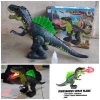 Mainan Dinosaurus Asap Bisa Jalan Suara - Dino Batre Anak Edukatif