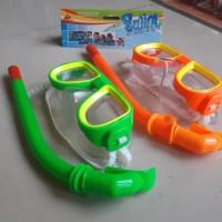Kacamata Renang Selang Snorkel Anak - Set Alat Selam Snorkeling