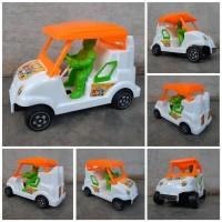 Mainan Mobil Golf Tarik Edukasi Miniatur Mobilan Dorong Anak Edukatif