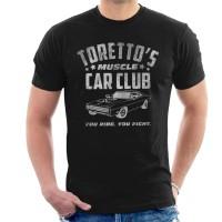 Kaos Fast And The Furious Torettos Muscle Car Club T-shirt