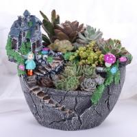 Termurah ☑ Pastoral Resin Flowerpot Succulent Plants Planter