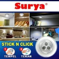 Lampu Emergency Surya Stick And Click