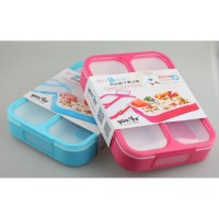 YOOYEE LEAK PROOF GRID LUNCH BOX SEKAT 3 / KOTAK MAKAN ANTI TUMPAH