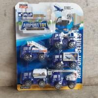 Mainan Set Mobil Truk Airport Toy - Miniatur Truck Car Anak Edukatif
