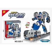 Mainan Tobot Mini Athlon - Robot Robotan Transformers Kereta Anak