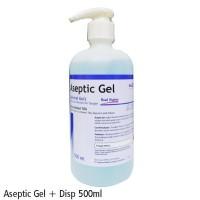 TERMURAH ONEMED ANTISEPTIC GEL 500 ML/ ASEPTIC GEL / HAND SANITIZER /