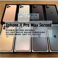 (SECOND) iPhone 11 Pro Max 64GB 256GB 512GB MULUS - BEKAS - 64 256 512