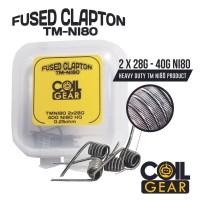 COIL GEAR FUSED CLAPTON TMNI-80 4 PCS AUTHENTIC