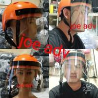 helm face shield anti virus corona visor pelindung wajah