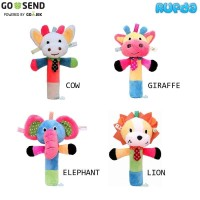 Marveila Rattle Squeeze Stick Mainan Boneka untuk Bayi Bisa Berbunyi