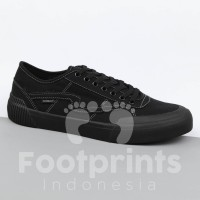 Sepatu Patrobas Equip Low All Black Sneakers Local Brand Lokal Casual