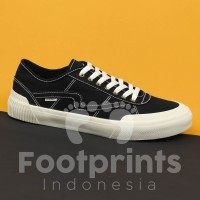 Sepatu Patrobas Equip Low Black White Sneaker Local Brand Lokal Casual