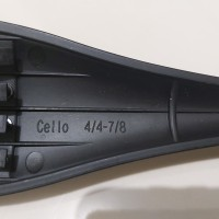 Tailpiece cello carbon 7/8-4/4