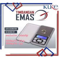 KUKE LS-15 Timbangan Mini Digital (Emas/Perhiasan/Pocket Scale)