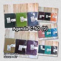 Agenda C-50 Ukuran A7 14cm x 10cm (Pcs)