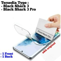 Hydrogel Screen Protector - Black Shark 3 3 Pro Full Set - Black Shark 3