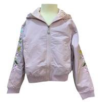 MOEJOE Girls Floral Embroidery Jacket