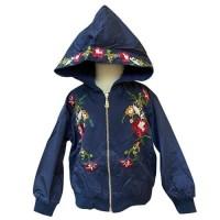 MOEJOE Cute Floral Embroidery Jacket
