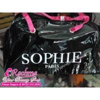 TAS SANTAI ASLI SOPHIE PARIS DISKON 43.100 PRUNE BIG BAG MODERN CASUAL