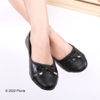 Pluvia - ANNE Sepatu Flat Shoes Wanita Quilted