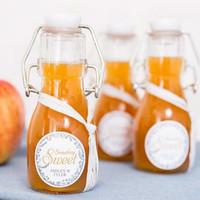Swing Bottle White Lid 0.1L/KORKEN Swing Bottle/ Mason Swing Bottle