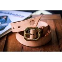 V-Belt Natural - Leather Belt by Voute Co. Ltd.