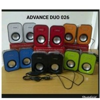 speaker advance duo 026/ duo026 speaker laptop/speaker komputer hp